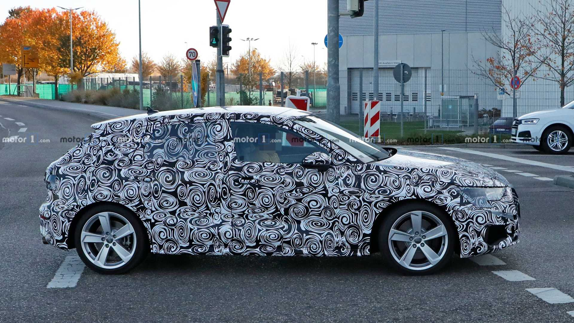 2020 - [Audi] A3 IV - Page 5 Audi-s3-sportback-spy-photo