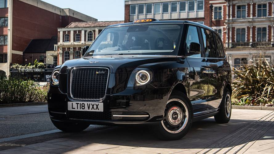 London's first all-electric taxi fleet launched
