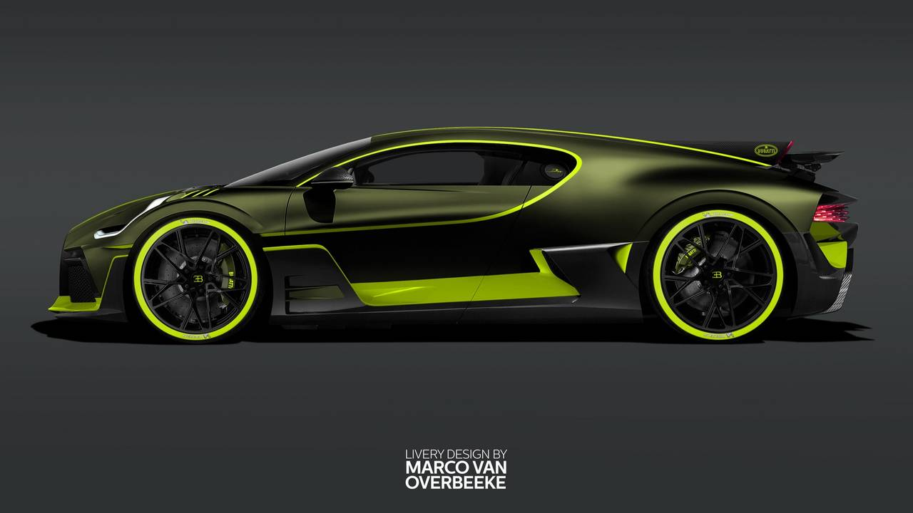 Bugatti Divo Looks Divine Wearing Heritage Paint Jobs 30 Images