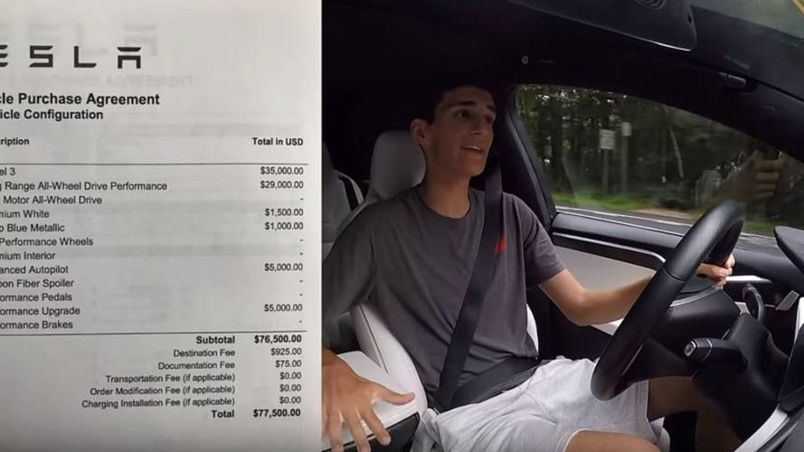 Ride Inside This $77,500 Tesla Model 3
