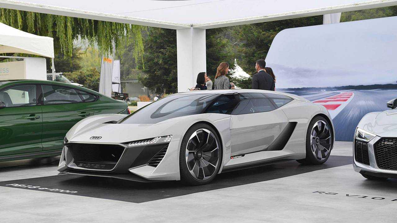 Best: Audi PB18 E-Tron Concept