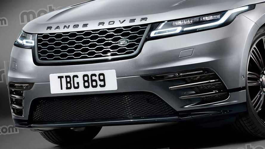 Render de station wagon robusta de Land Rover