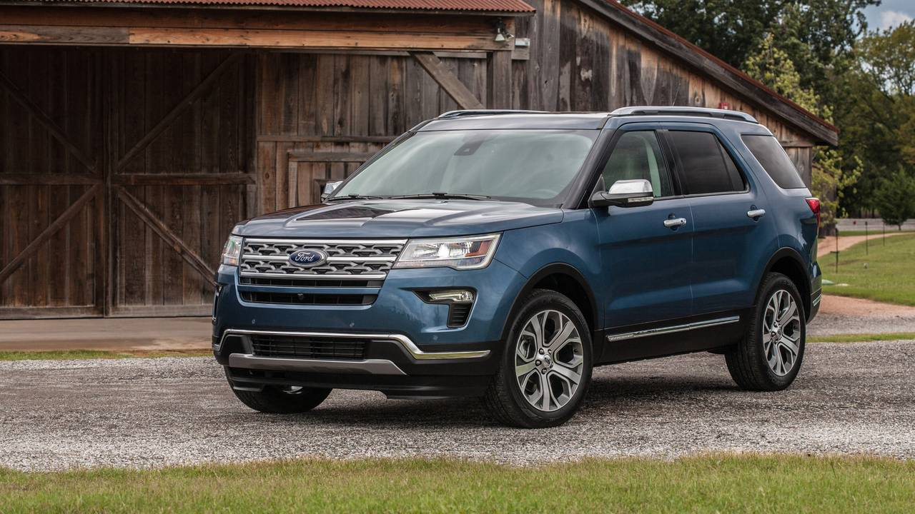 Black Ford Explorer >> Ford Touts New Special-Edition Explorer, Expedition SUVs In Texas