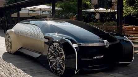 Önvezető autózás luxuskörülmények között = Renault EZ-Ultimo tanulmány