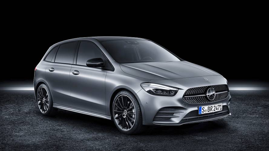 2019 Mercedes B-Class official videos released