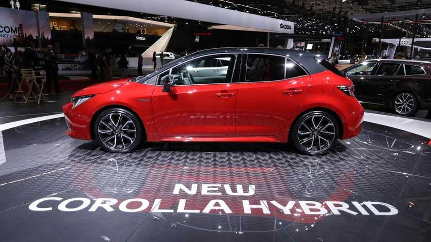 Toyota zeigt Corolla, Camry und RAV4 in Paris