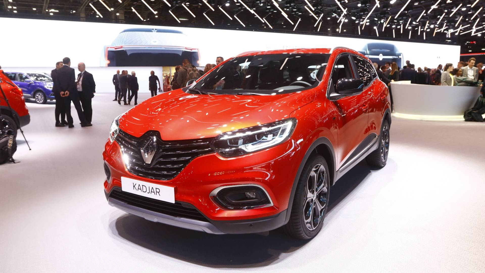Renault Kadjar Brings Its Subtle Facelift To Paris Motor Show