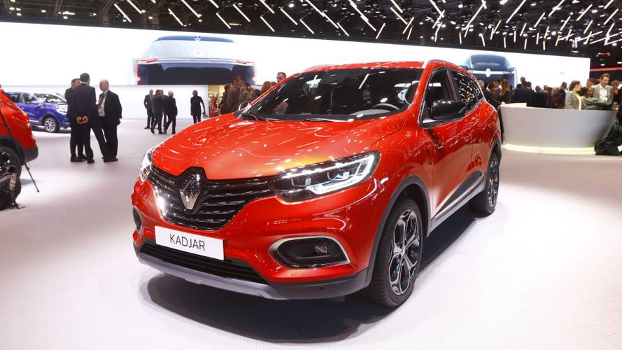 Renault Kadjar facelift revealed with new turbo petrol engine
