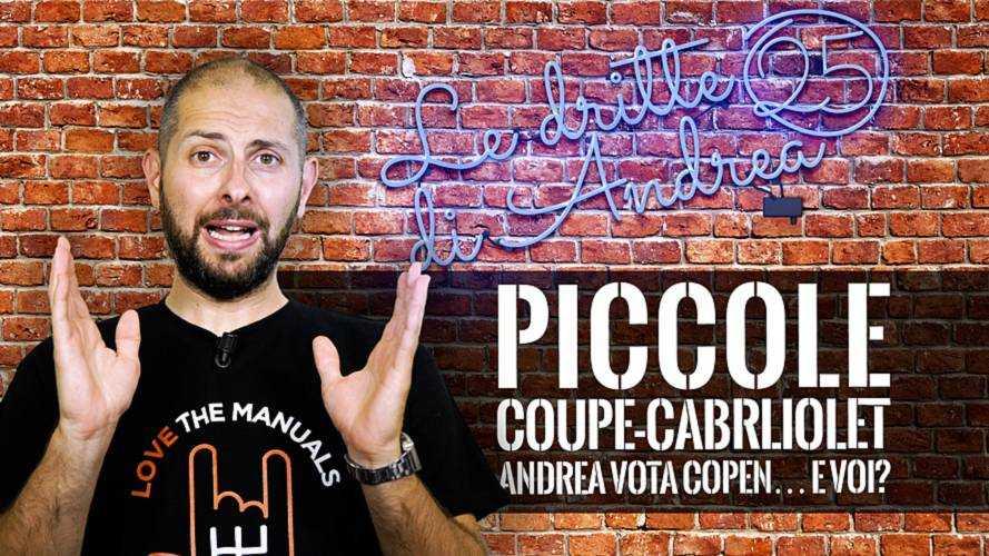 Piccole coupé-cabriolet: Andrea vota Copen… e voi?