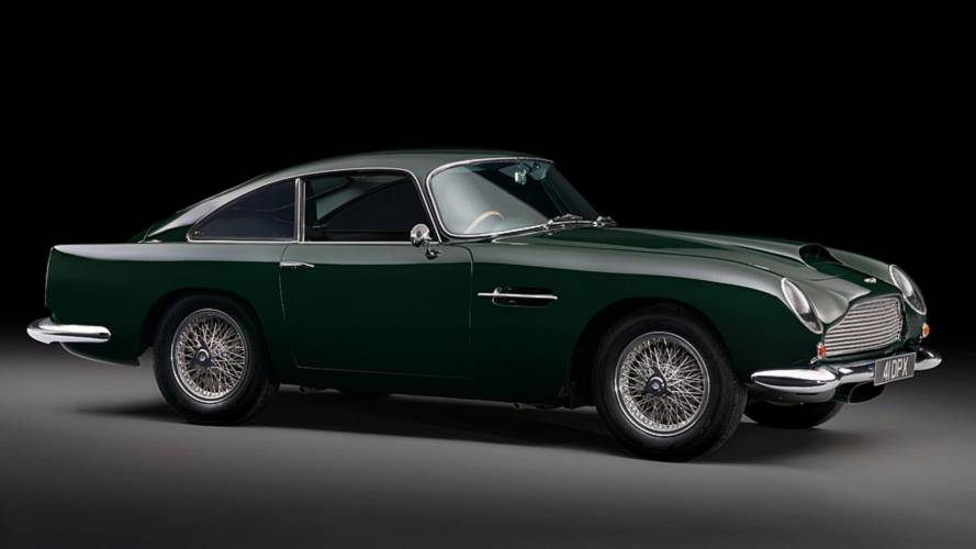 Peter Sellers' old Aston Martin to appear at Concours of Elegance