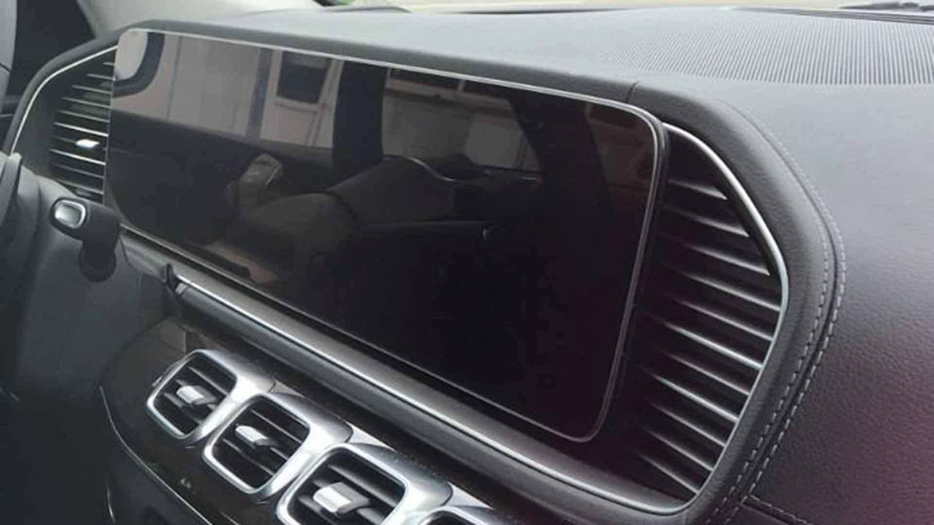 2019 Mercedes GLE Interior Revealed In Spy Shots