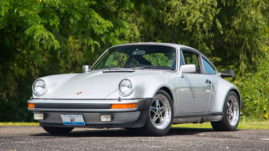 Walter Payton's 1979 Porsche 930 Turbo Is Pure Sweetness