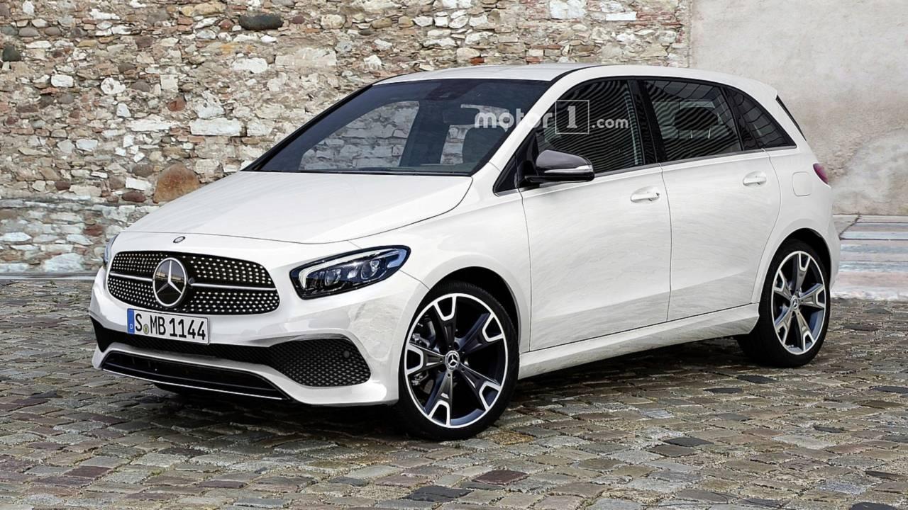 2019 Mercedes B-Class render