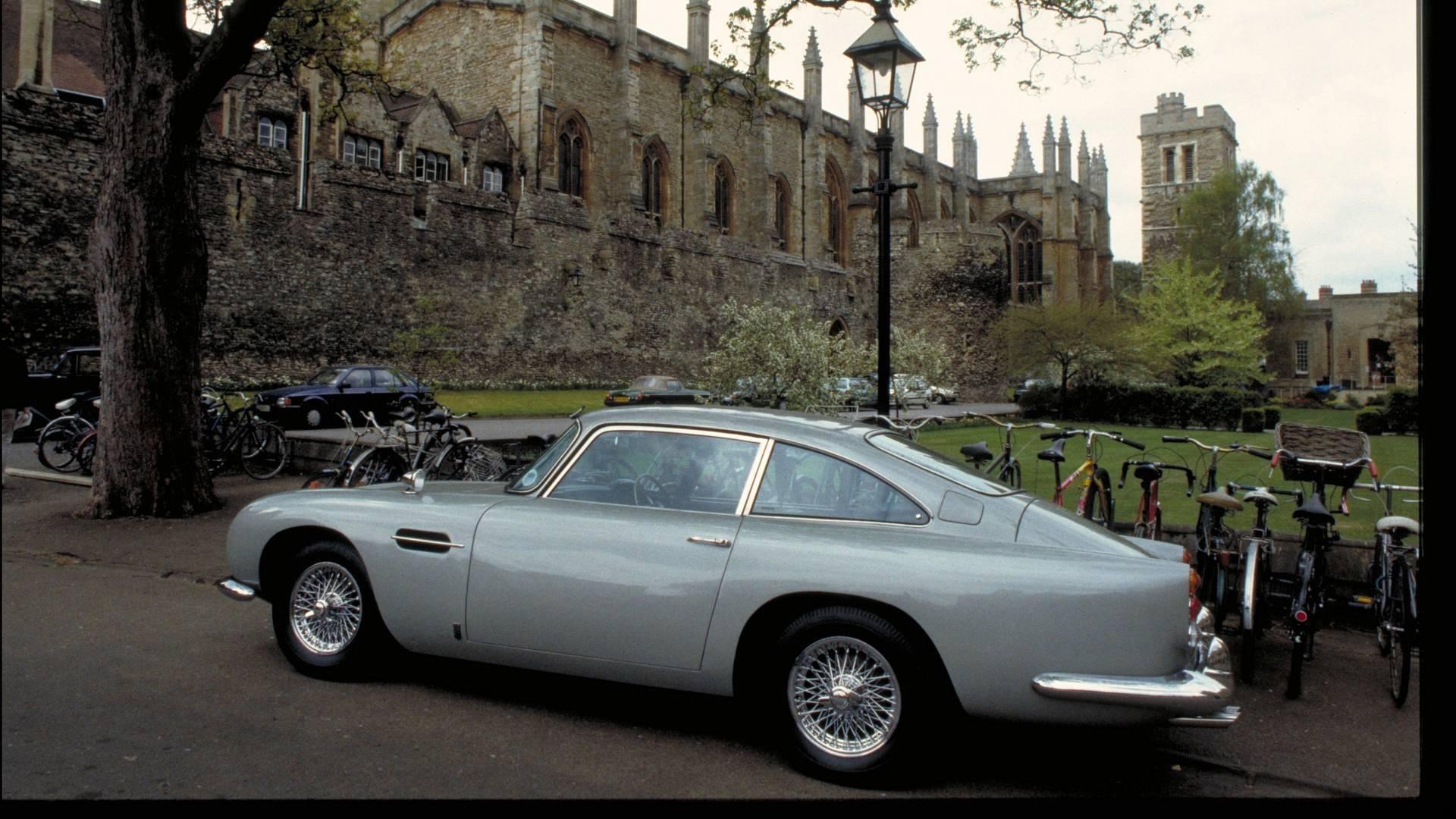 Aston Martin Fabricará De Nuevo Un Db5 Igual Que El De
