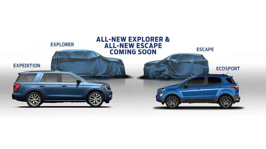 Ford SUVs - Novos teasers