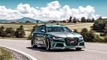 2018 ABT RS6-E Test