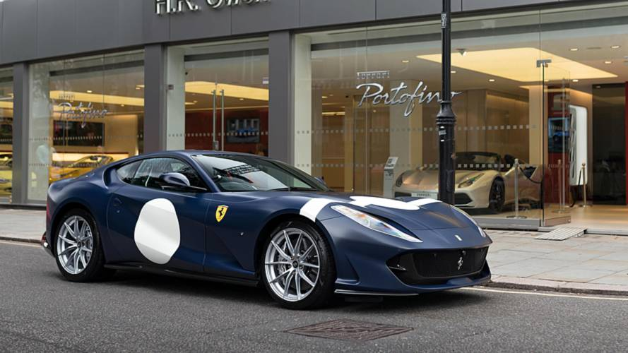 Stirling Moss-Inspired Ferrari 812 Superfast Arrives In London