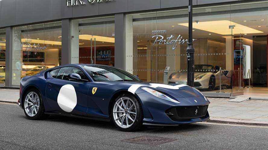 Stirling Moss-inspired Ferrari 812 Superfast lands in London