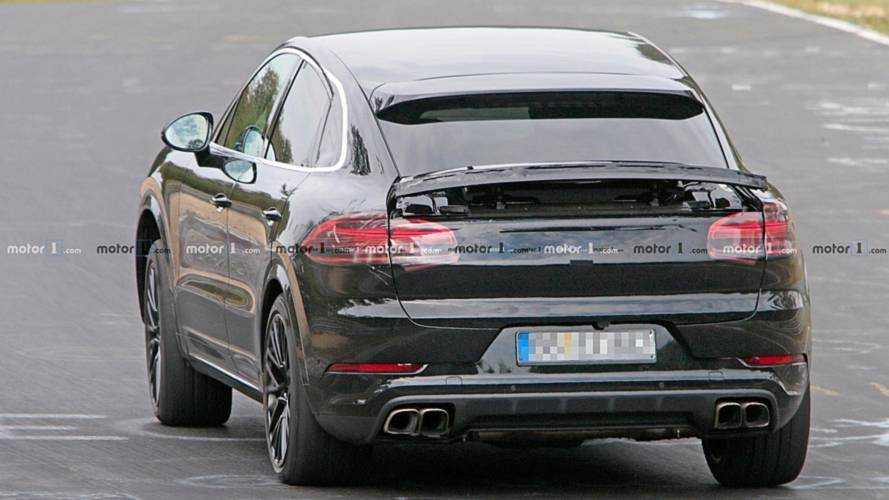 Porsche Cayenne Coupe Spy Shots
