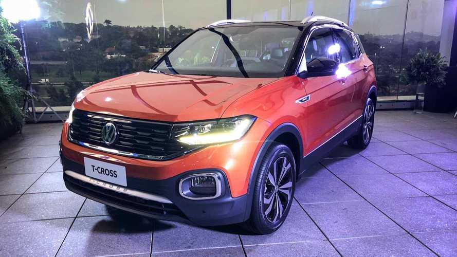 Semana Motor1.com: Novo VW T-Cross, novo HB20 no Salão e mais