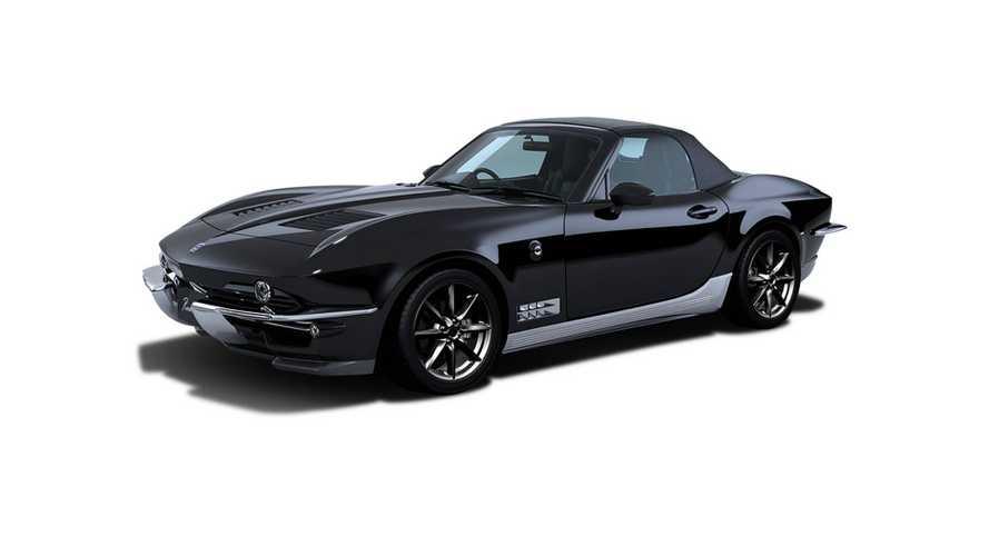 Egy Corvette és egy MX-5 szerelemgyerekeként debütált a Mitsuoka Rock Star