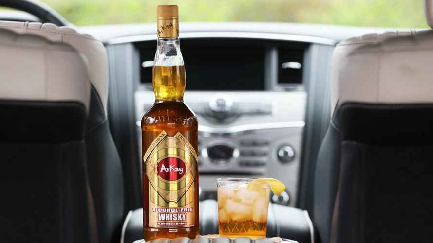 This non-alcoholic Arkay cocktail was designed for drivers