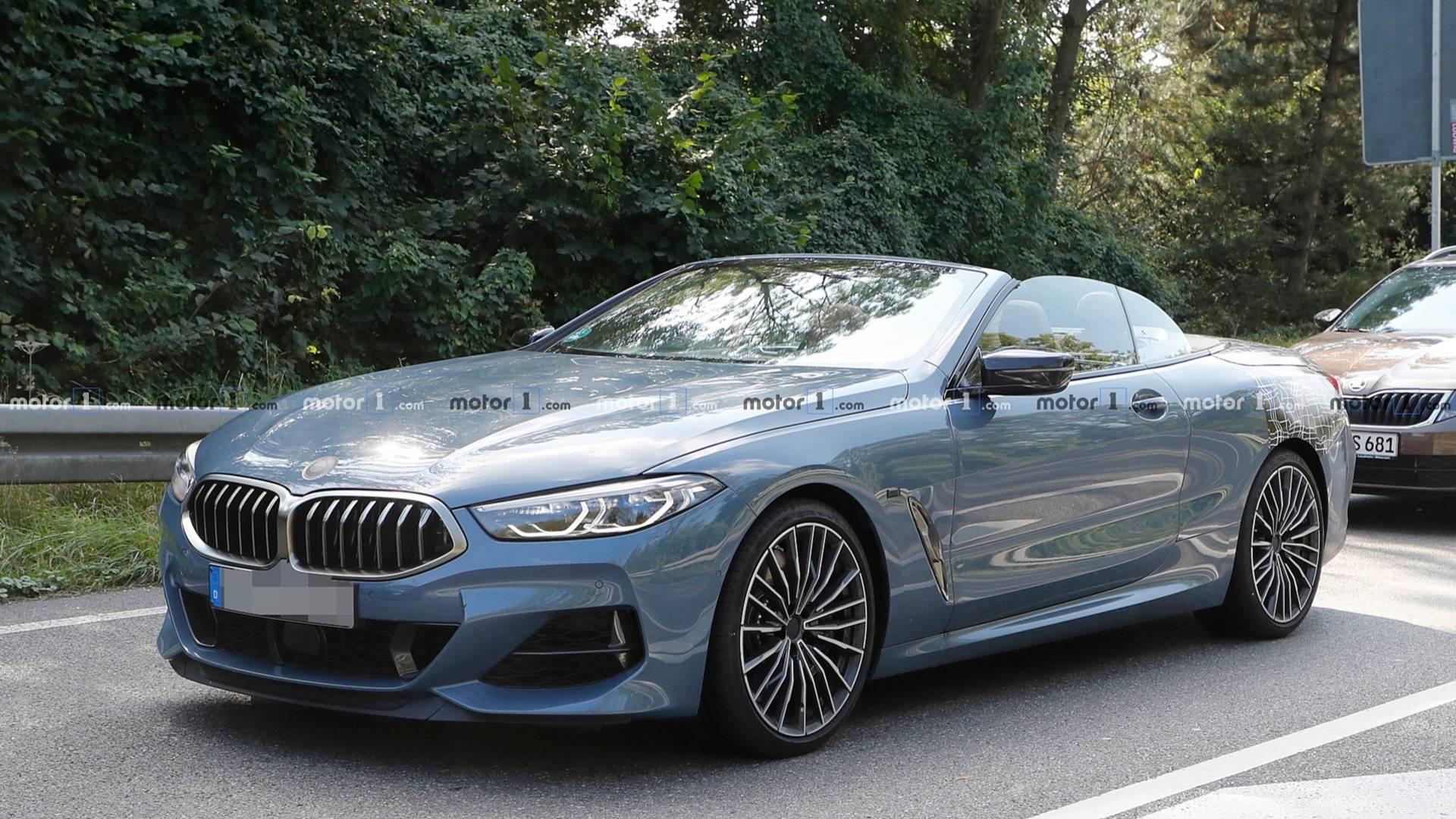 Bmw 8 Series Convertible Nearly Naked In New Spy Photos