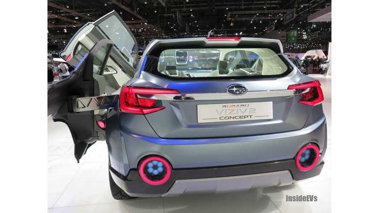 Subaru Hints At Upcoming Electric Vehicle