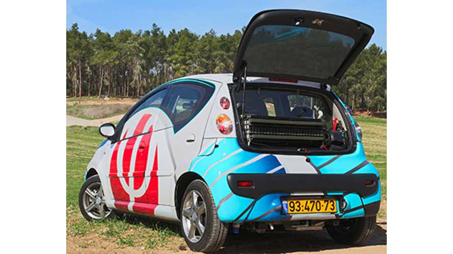 1,000-Mile Aluminum Air Range-Extended Electric Vehicle Debuts - Video