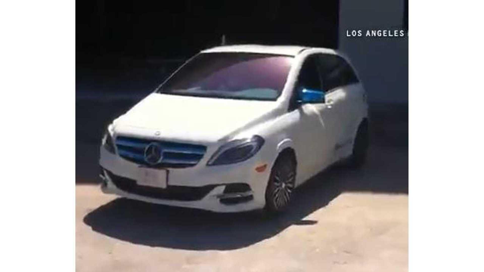 Mercedes Long Beach >> Long Beach Mayor Burns Rubber In Mercedes Benz B Class
