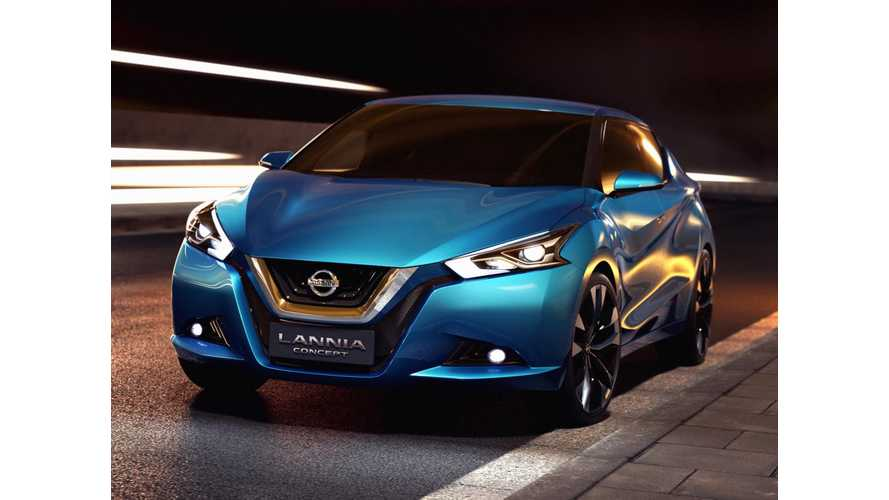 Nissan Lannia Concept - Not A Plug In, But It Should Be - Video