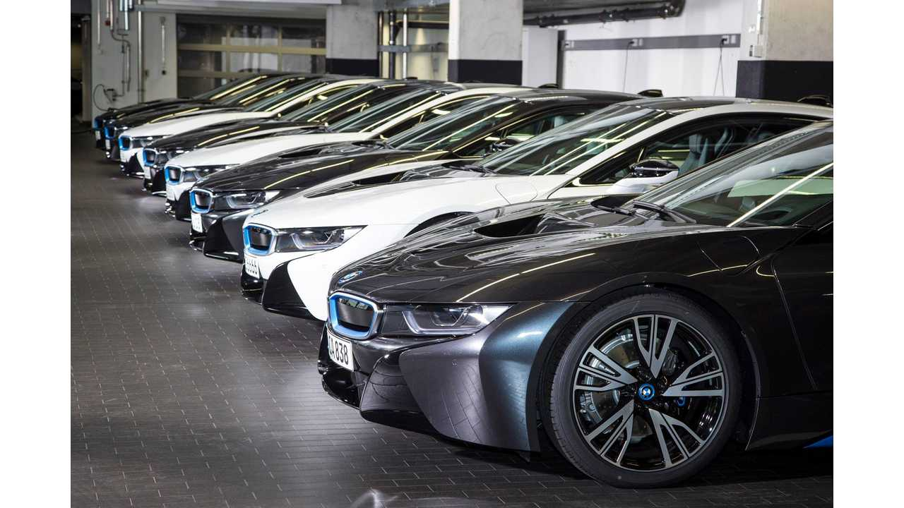 BMW i8s Lined Up For Delivery