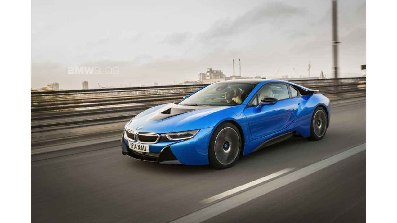 Onboard BMW i8 -Video