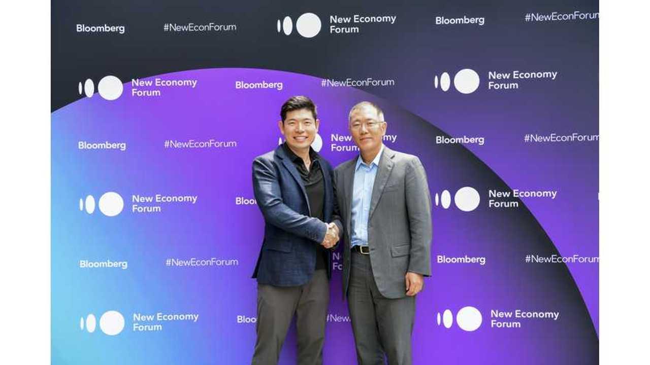 Hyundai And Grab Holdings Announce EV Pilot Program