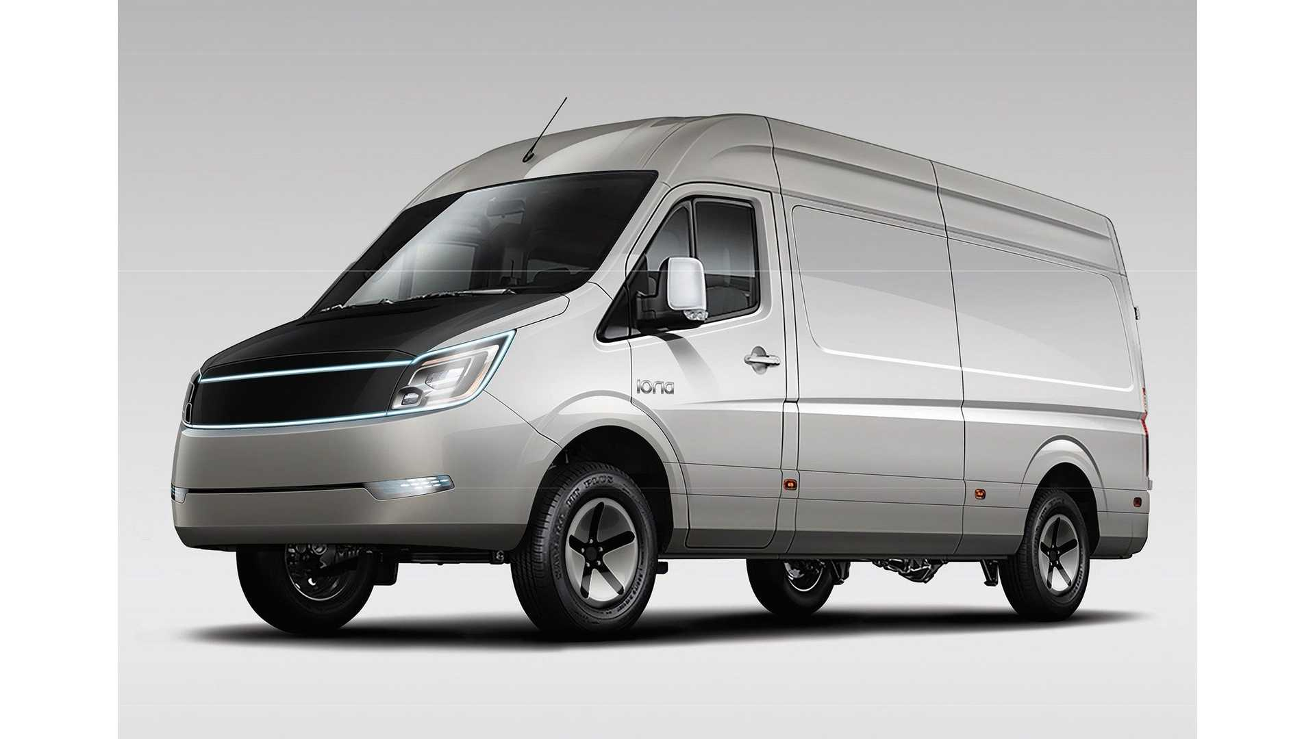 Meet IONA Electric Truck & Van: Equipped With Battery