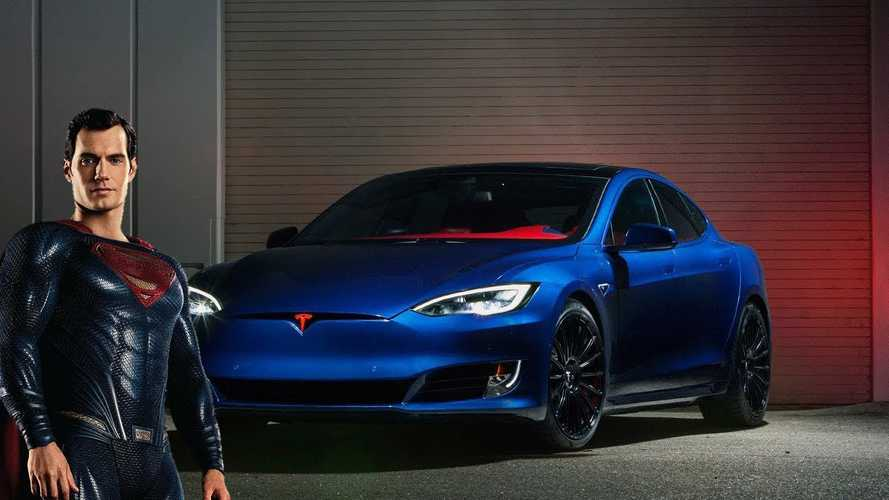 Is This Tesla Model S What Superman Would Drive?