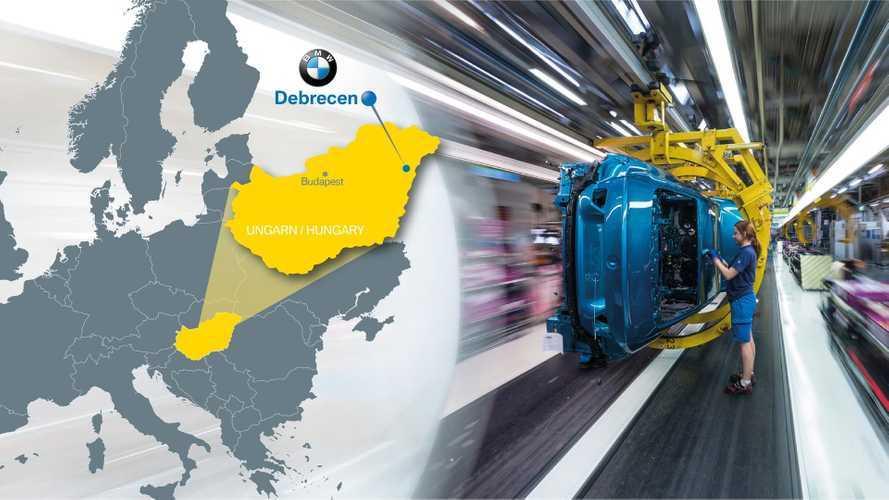 BMW Announces €1 Billion Car Plant In Hungary