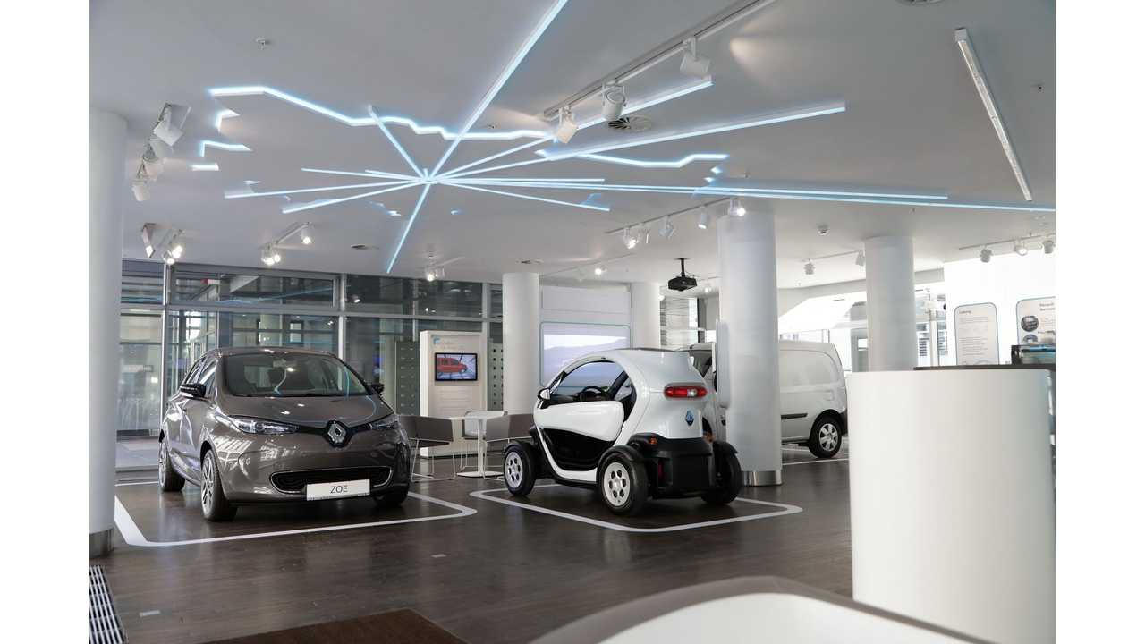 Renault Opens Electric Vehicle Concept Store In Berlin