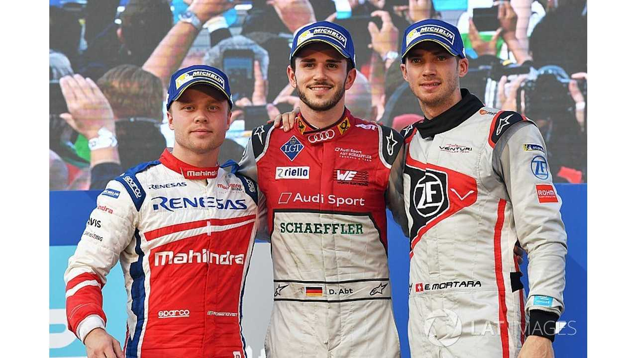 Disqualification Leads To Rosenqvist Win In Second Hong Kong Formula E Race