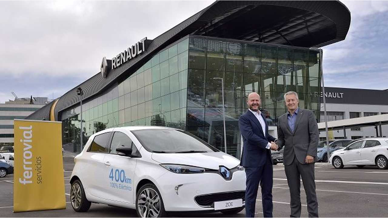 500 Renault ZOE Z.E. 40 To Be Available In Car Sharing Service In Madrid