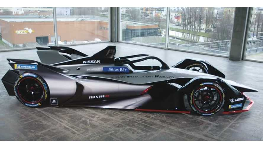 Nissan's Motorsport Director Shows Us Automaker's Formula E Race Car