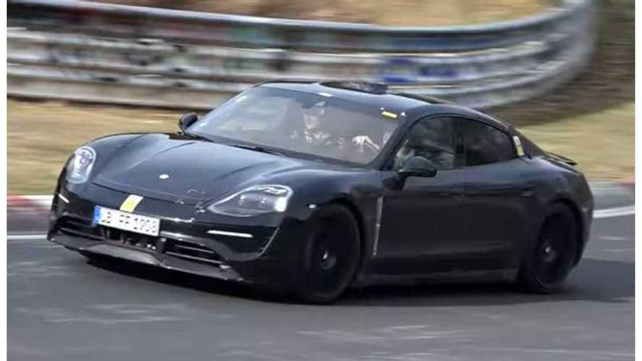Porsche Mission E nurburgring