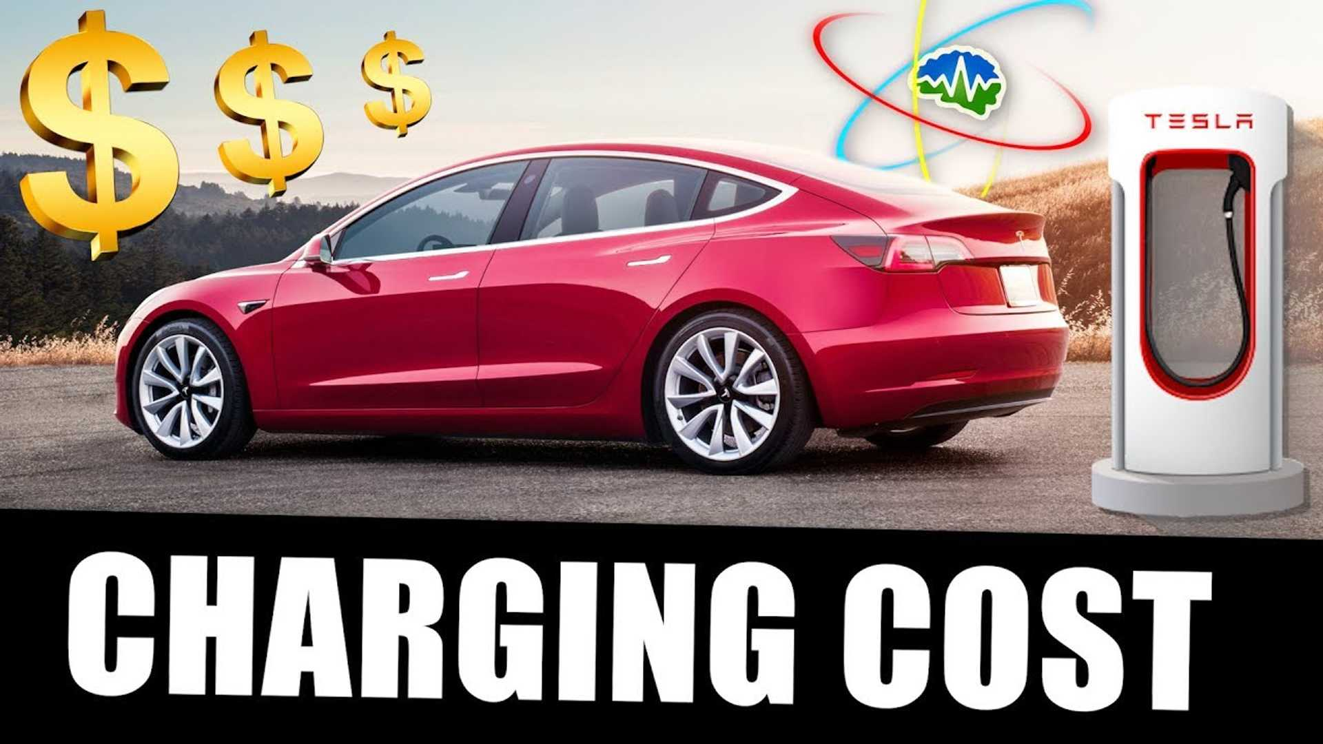 Find Out How Much It Costs To Charge Tesla Model 3