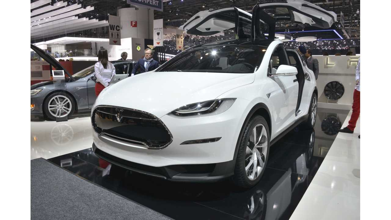 Tesla Model X To Be Unveiled At 2015 NAIAS?