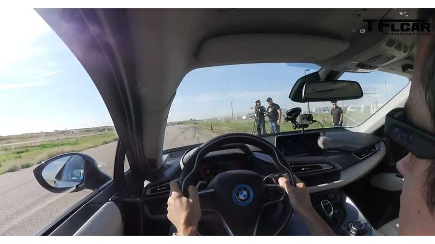 The Fast Lane Car Takes BMW i8 To The Racetrack - Video