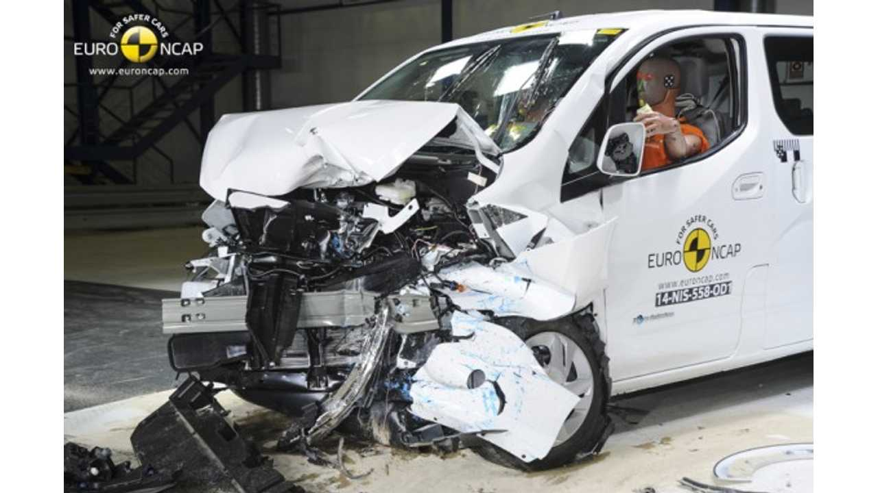 Nissan e-NV200 Evalia Gets 3 Stars in Euro NCAP Safety Tests - Photos & Video