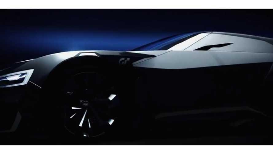 Subaru Viziv GT Plug-In Is A Real Thing - In Gran Turismo (video)