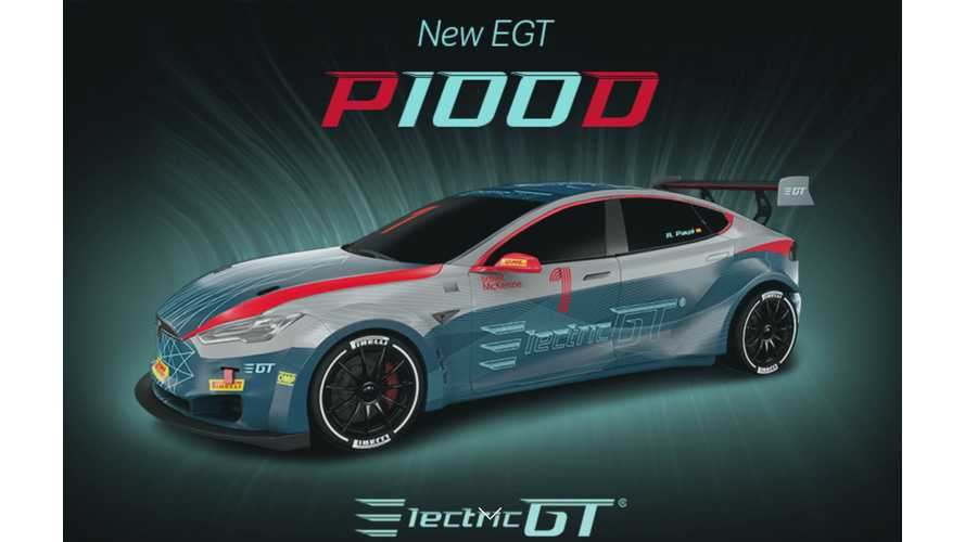 When & Where Tesla-Only Electric GT Races Will Be In 2018-2019