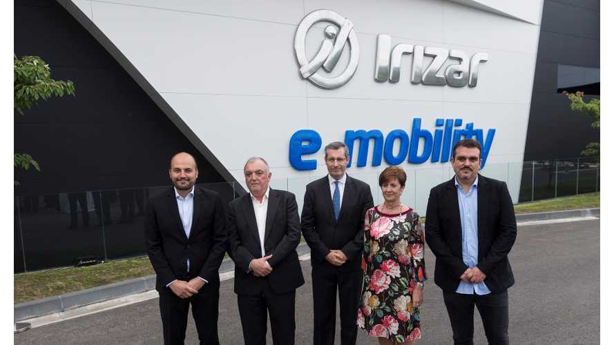 Irizar Inaugurates Electromobility Plant In Spain