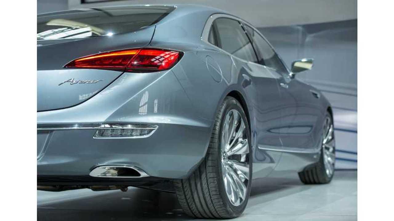 Buick avenir concept NAIAS rear